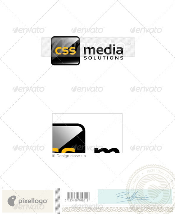 Technology Logo - 2226 - Vector Abstract