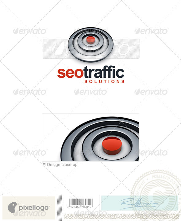 Technology Logo - 3D-625 - 3d Abstract