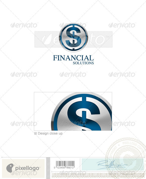 Business & Finance Logo - 3D-73 - 3d Abstract