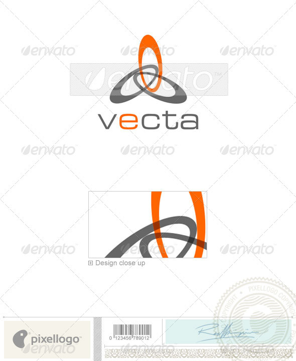 Print & Design Logo - 1041 - Vector Abstract