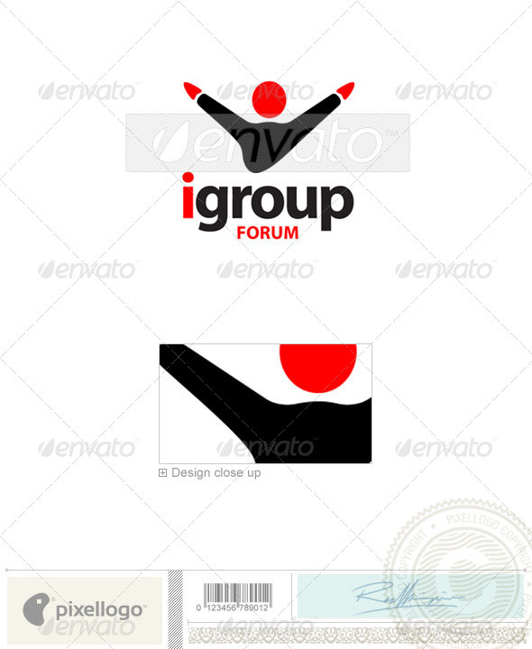 Business & Finance Logo - 142 - Humans Logo Templates