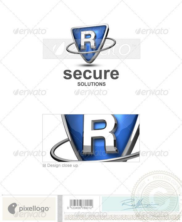 R Logo - 3D-285-R - Letters Logo Templates