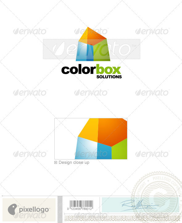 Print & Design Logo - 1572 - Vector Abstract