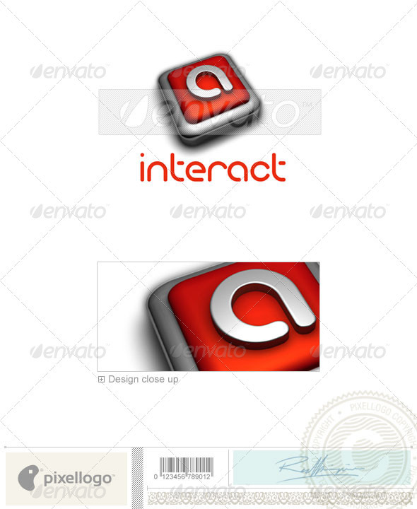 Technology Logo - 3D-197 - Letters Logo Templates