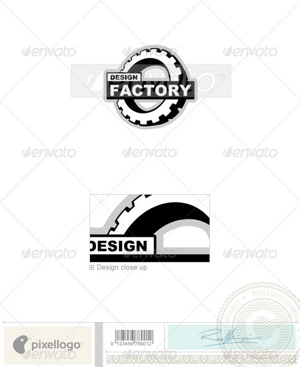 Industry & Science Logo - 333 - Objects Logo Templates