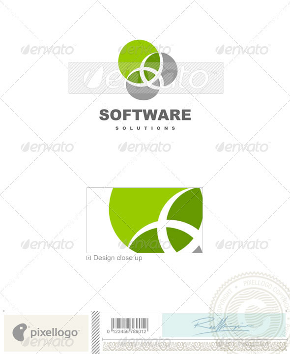 Technology Logo - 472 - Vector Abstract
