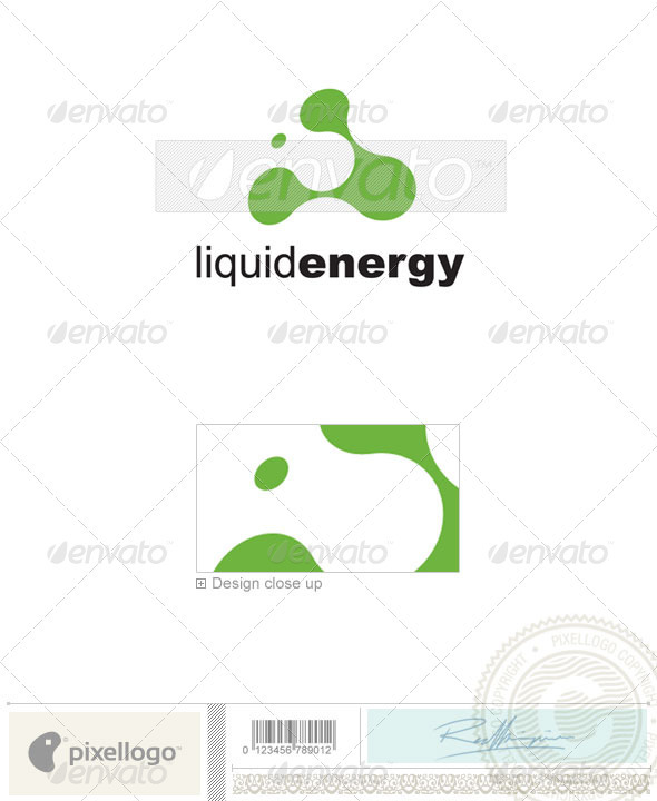 Print & Design Logo - 194 - Vector Abstract