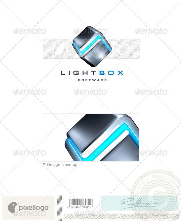 Technology Logo - 3D-68 - 3d Abstract