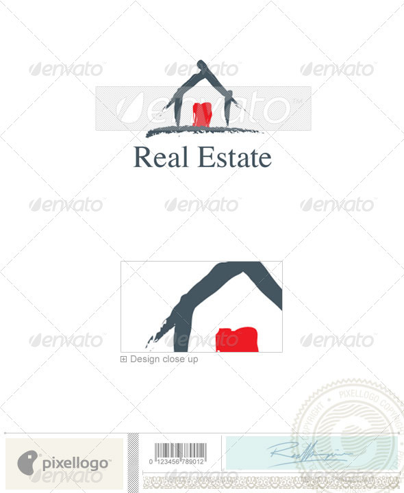 Home & Office Logo - 534 - Buildings Logo Templates