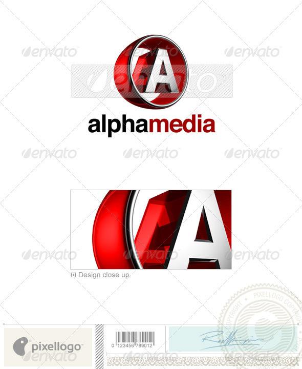 A Logo - 3D-438-A - Letters Logo Templates