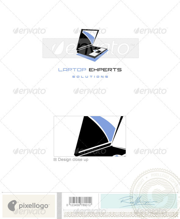 Technology Logo - 551 - Objects Logo Templates
