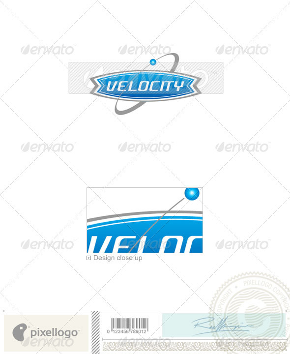 Communications Logo - 436 - Vector Abstract
