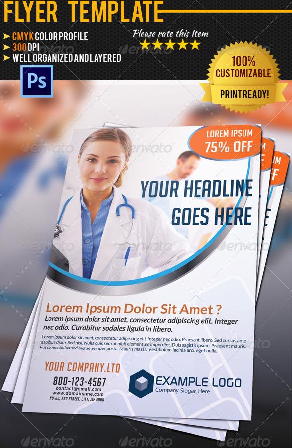 Medical Flyer 01 - Commerce Flyers