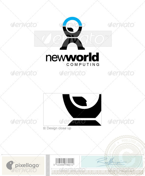 Communications Logo - 2182 - Vector Abstract