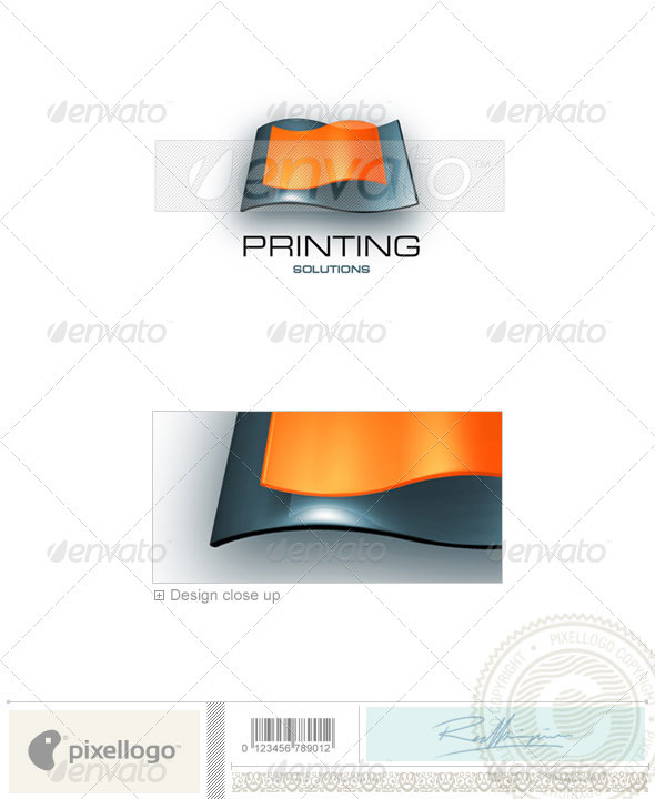 Print & Design Logo - 3D-157 - 3d Abstract