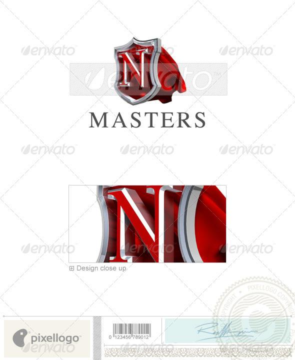 N Logo - 3D-259-N - Letters Logo Templates