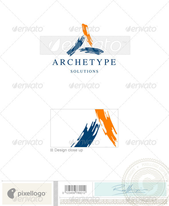 Architect Logo - 589 - Vector Abstract