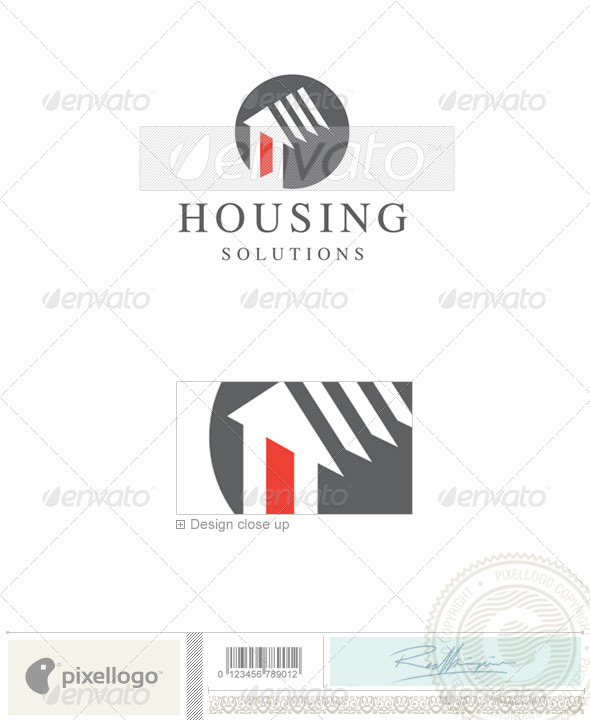 Home & Office Logo - 665 - Buildings Logo Templates