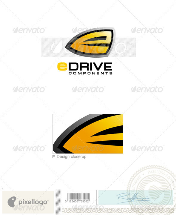 Technology Logo - 126 - Vector Abstract