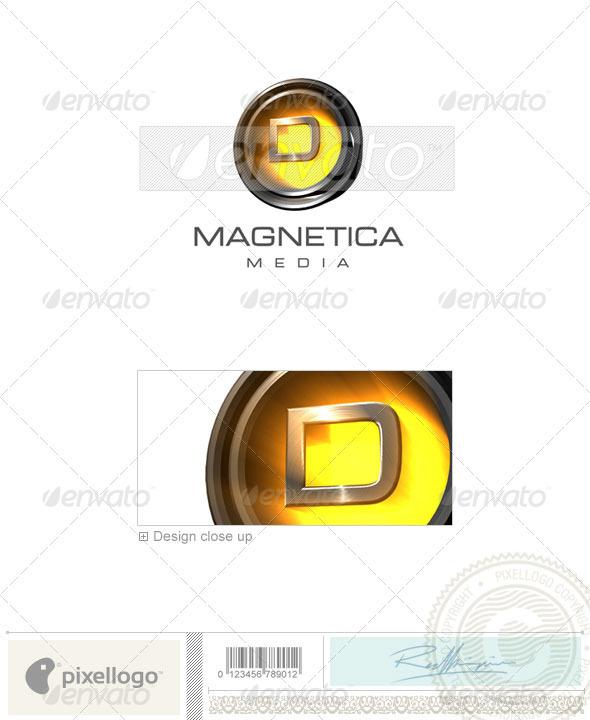 D Logo - 3D-238-D - Letters Logo Templates