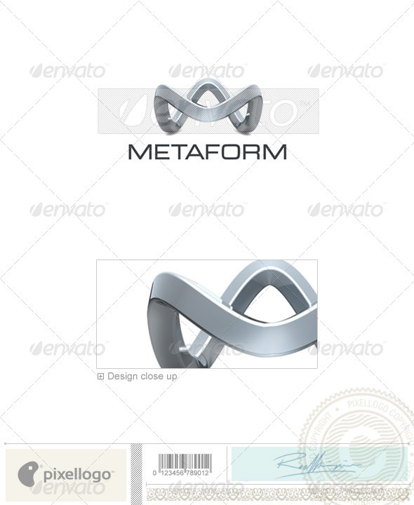 Technology Logo - 3D-319 - 3d Abstract