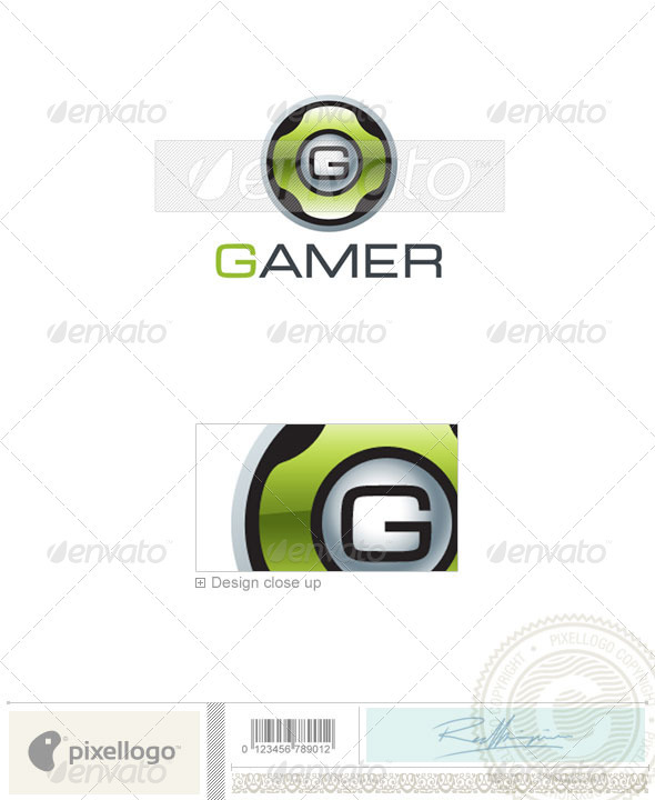 Technology Logo - 1797 - Vector Abstract