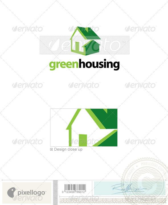 Home & Office Logo - 2206 - Buildings Logo Templates