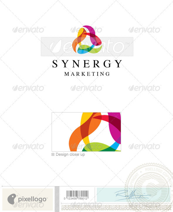 Business & Finance Logo - 1870 - Vector Abstract