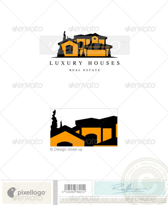 Home & Office Logo - 562 - Buildings Logo Templates