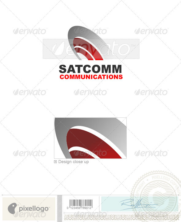 Communications Logo - 1369 - Objects Logo Templates