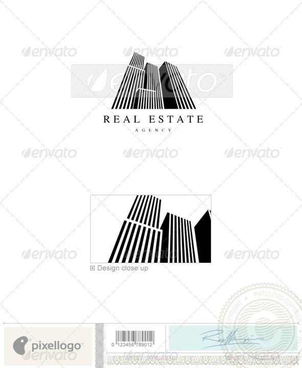 Home & Office Logo - 592 - Buildings Logo Templates