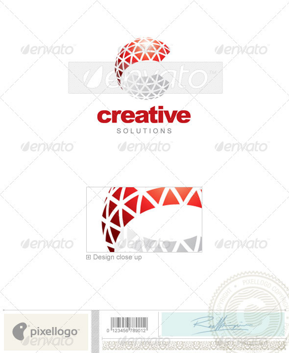 Communications Logo - 2060 - Vector Abstract