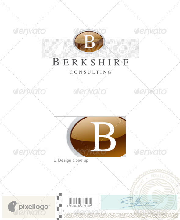 Business & Finance Logo - 1653 - Letters Logo Templates