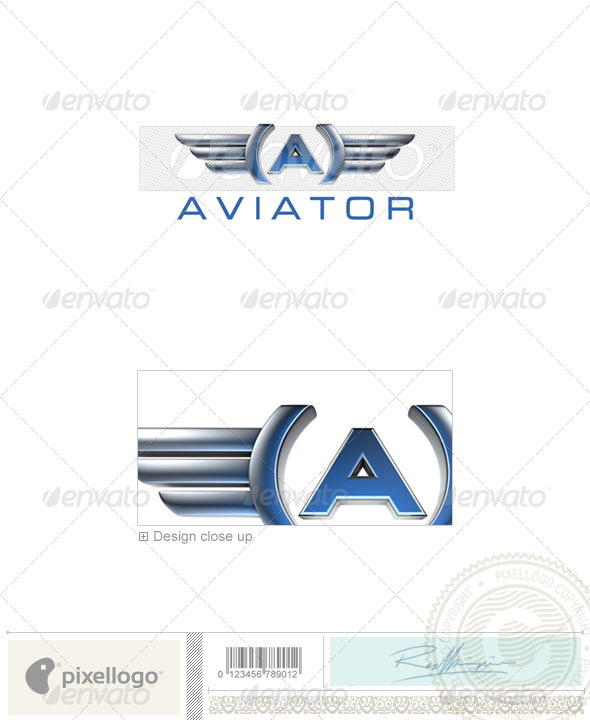 Transport Logo - 3D-660 - Letters Logo Templates