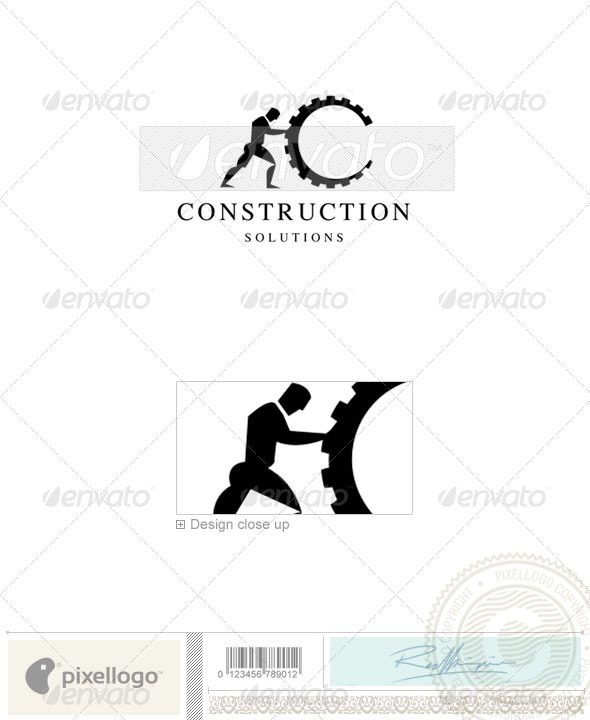 Home & Office Logo - 1686 - Humans Logo Templates