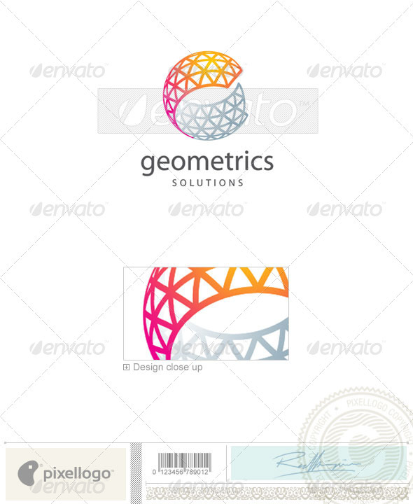 Industry & Science Logo - 2056 - Vector Abstract
