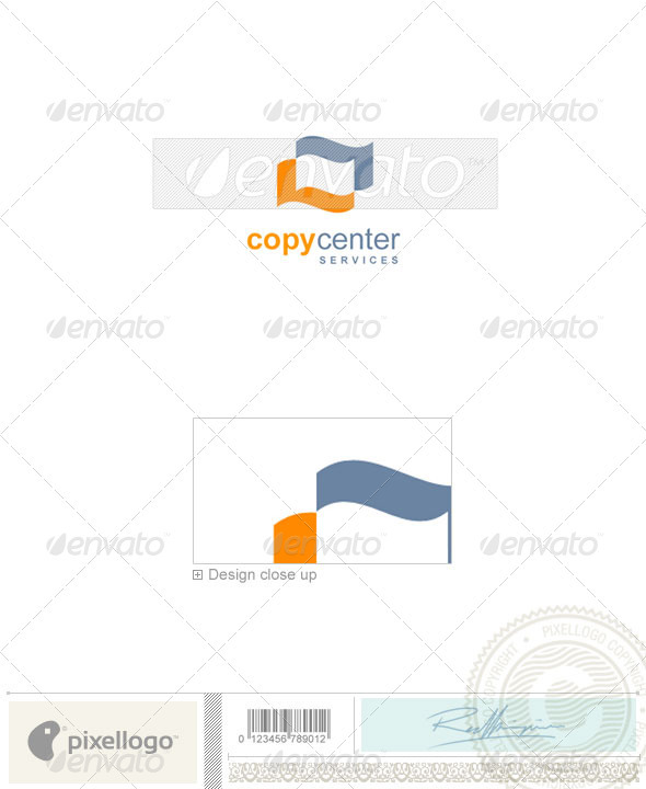 Print & Design Logo - 648 - Vector Abstract