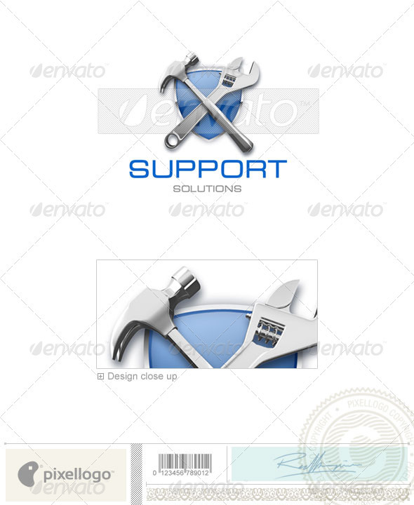 Home & Office Logo - 3D-214 - 3d Abstract