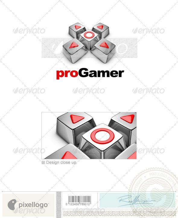 Technology Logo - 3D-445 - 3d Abstract