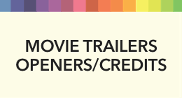 Sort By Usage-Movie Trailers/Openers