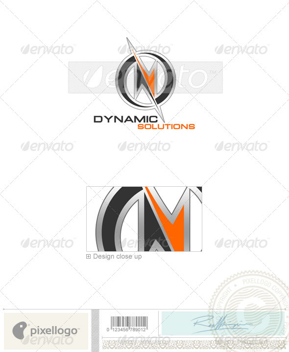 Technology Logo - 63 - Vector Abstract