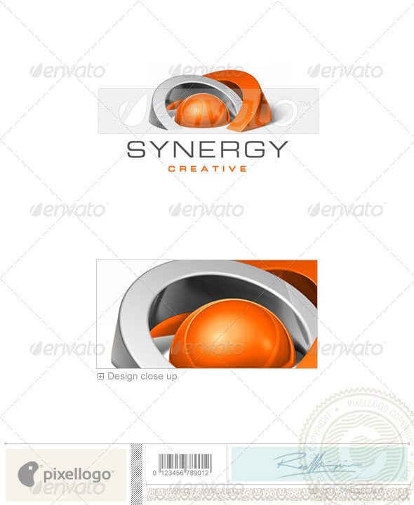 Communications Logo - 3D-257 - 3d Abstract