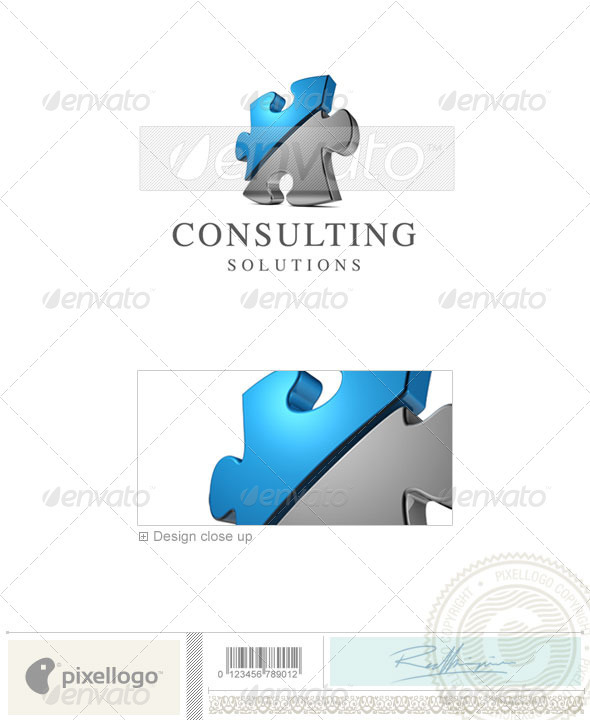 Business & Finance Logo - 3D-419 - 3d Abstract