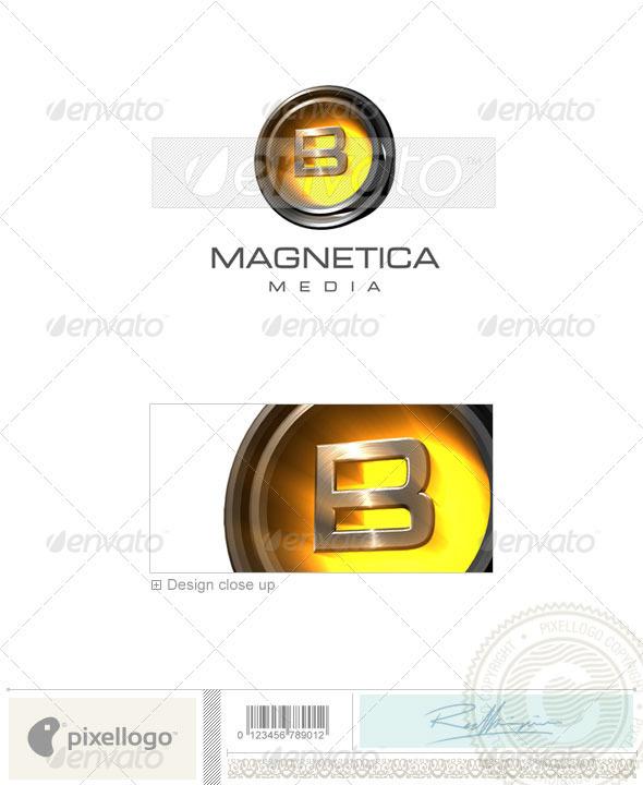 B Logo - 3D-238-B - Letters Logo Templates