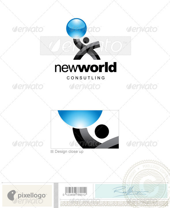 Business & Finance Logo - 2145 - Vector Abstract
