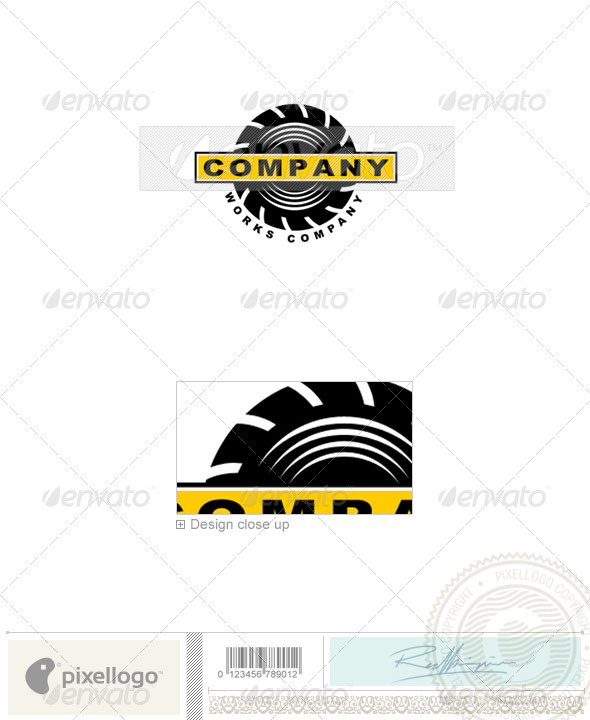 Home & Office Logo - 387 - Objects Logo Templates