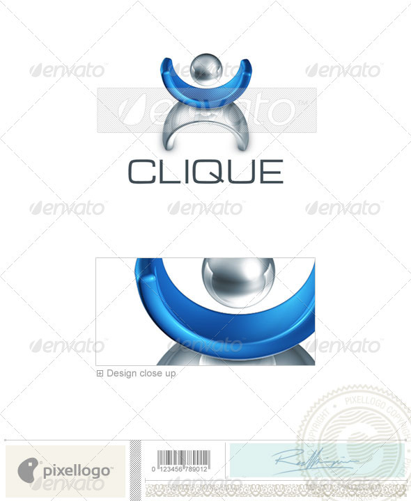 Business & Finance Logo - 3D-395 - 3d Abstract