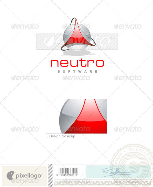 Technology Logo - 1378 - Vector Abstract