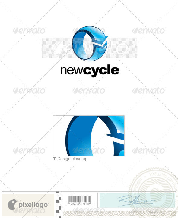 Communications Logo - 2152 - Vector Abstract