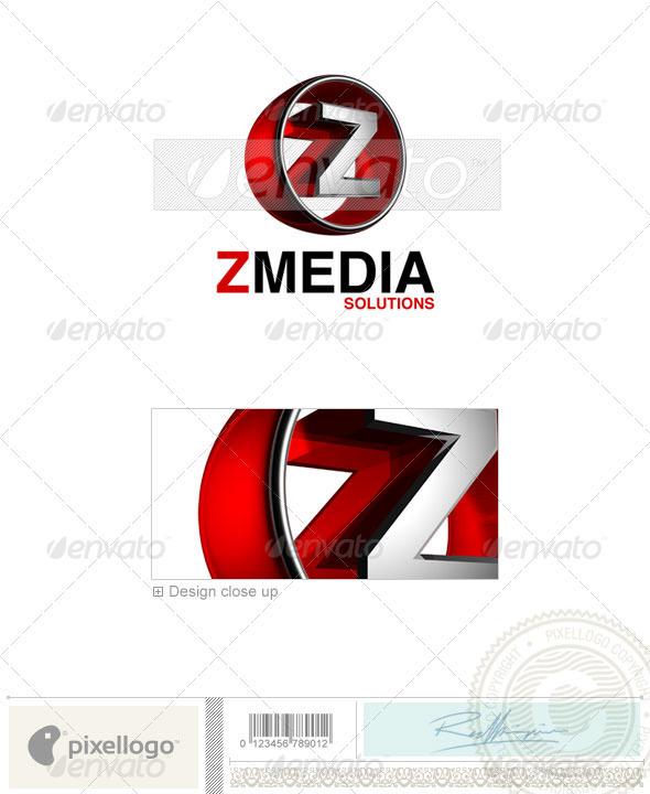 Z Logo - 3D-438-Z - Letters Logo Templates